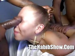 Rican mixed ms.natural fucked nutteed in her pussy ghetto