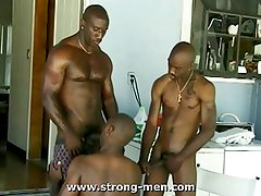 Black Trio Sex