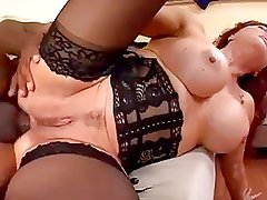 Latino Maid Vanessa Takes It In The Ass