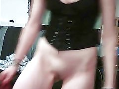 19 Year Old Slutty Teen, Stroking Her Pussy on Webcam