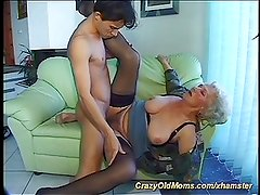 his mom is very horny