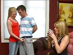 Kristal Summers - Milf and Teens Threesome