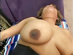 Kira's Sweet Shaved Black Cunt Gets Creampie