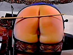 Big fat asses spanked for real