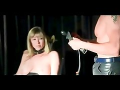 Blonde Mom Bound Spanked And Toyed