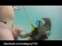 Underwater Fetish Fun at clips4sale.com