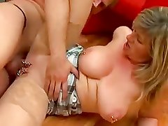 Busty mature Marina Montana gets her first fuck...