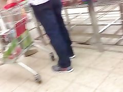 Hot Milf in the supermarket