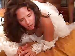 Brunette Bride Interracial