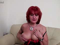 Amateur mature slut mom wants to have cock badly