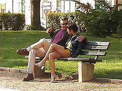 Fuck on street babe gets cock oral and pussy licked