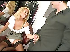 Cougar Boss Orders Her Employee To Bang