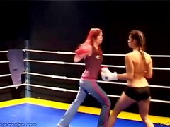 A cat fight and a great fuck for the winner girl