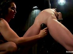 Erotic Amber Rayne has Tortured And Toyed By Perverted honey