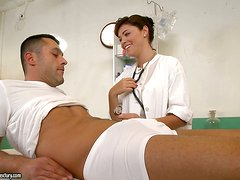Hot Tanned Brunette Doctor Ava Dalush is a Cougar Horny for Cock