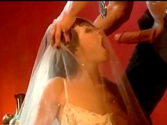 Claudia Jamsson the slutty girl in a wedding dress get nailed