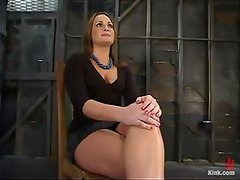 Throat and Pussy Banging for Dominated Babe Flower Tucci