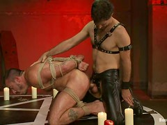 The servants of Satan are having this BDSM ritual