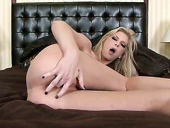 Brooke Banner makes no secret of her snatch and hooters