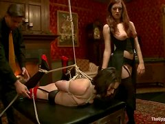 Iona Grace gets tormented and enjoys a dildo in her pussy