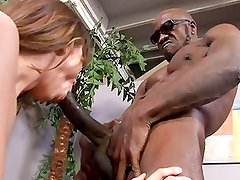 White wife gets painful anal and creampie from BBC