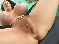 Cumshots on Hairy Pussies 2 BVR