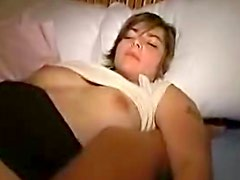 Cocksucking girlfriend fucked in the cunt