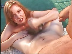 Handjob With Titty Milk