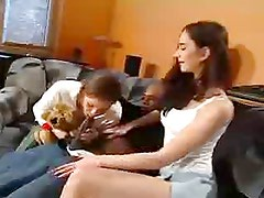 Anal Teen and GF fucked a black Cock