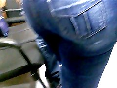 Extreme Huge Ass in Jeans From Brazil!