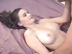 Hubby films wife take a thick cock
