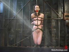 Mistress tapes Charlotte all over and makes her stun from pain