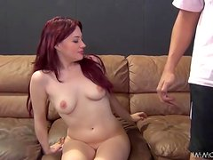 Amazing Jessica Ryan gets her pink pussy fucked and fingered