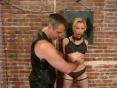 Clothespin Pussy Torture in Bondage Video with Adrianna Nicole