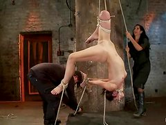 Some hot and wild BDSM session with Amber Rayne
