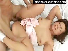 Cute japanese daughter violation