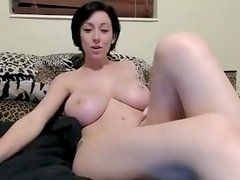 Pale Redhead Milks Monster Cock