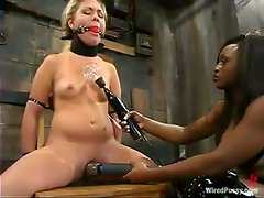 Aubrey Addams enjoys being humiliated by Jada Fire in a jail