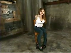 Extremely Tied Up Mallory Knots Gets Tit Tortured and Toyed