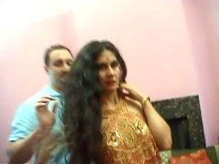 Thin Pale Indian Girl Is Fucked Hard From Behind