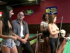 Oh, what money could do with people! See this scene where pal enters billiard club where
