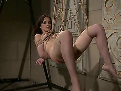 Examine the really cool scene with naughty enslaved bitch Aleksandra Black. Perverted dominant