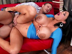 Busty and sexy Amy Anderssen got her nutthole fucked