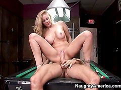 Julia Ann is fed up with her stepson, but she doesnt mind his friend. In fact, shes