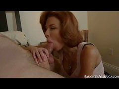 Milf Veronica Avluv sucks and fucks lustily