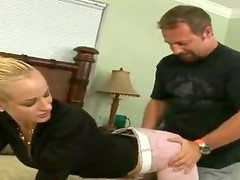 Booty milf bends over for some doggy style experience