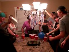 A birthday party turns into a hot sex party