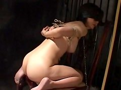 Blindfolded babe being humiliated so hard
