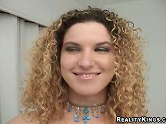 Lori is a curly haired lust that loves having sex on camera