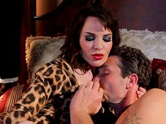 Cock hungry Eva in her bedroom with some jerk